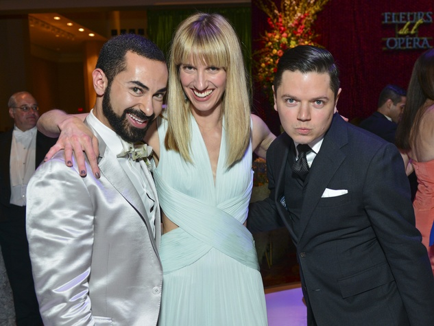 36 Fady Armanious, from left Chris Goins and David Peck at the Opera Ball April 2014