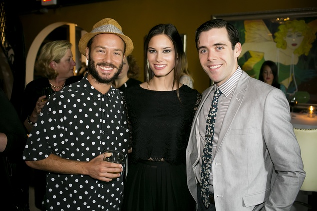 News, Shelby, Ballet Barre kick-off, August 2014, Oliver Halkowich, Erin Marquez, Connor Walsh