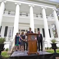Governor's Mansion Reopening, July 2012