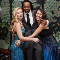 Inprint Poets & Writers Ball, February 2013, Lauren Berry, Jericho Brown, Miah Arnold