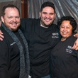 29 Brian Evans, from left, Michael Pellegrino and Ana Amaya at the Houston Truffle Chef of the Year Challenge January 2015