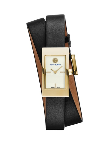 Tory Burch watch collection October 2014 The Buddy Signature black band