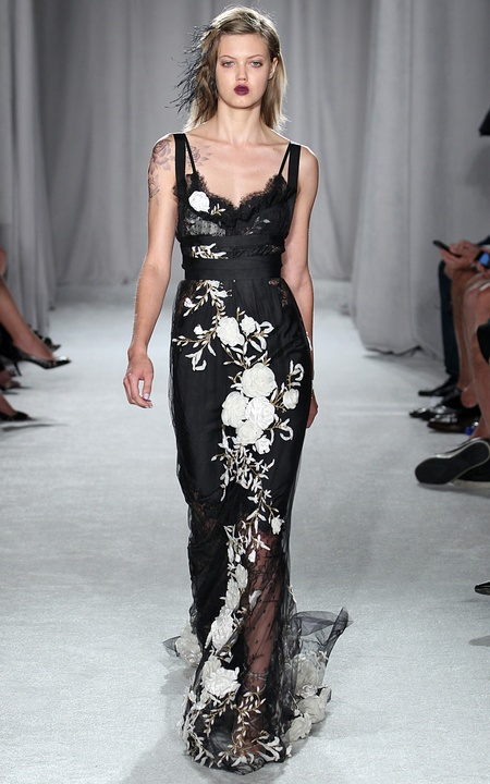 Marchesa look 23 spring collection 2014