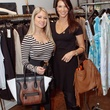 10 Rachel Suliburk, left, and Ashley Henderson at the Julie Rhodes Fashion & Home Nonoo trunk show for Houston Children Give Back January 2014