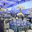 002, Rice University Centennial gala, October 2012, venue, table setting, table decorations