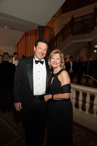 Brian and Mary Arnold at The Women's Home Gala November 2014