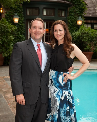 Houston, Junior League Legacy Salute, May 2015, Shannon and Justin Robinson
