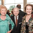 Ginger Blanton, from left, Dr. Michael Ahearn and Joyce Ahearn at the Interfaith Ministries Tapestry Gala May 2014