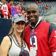 News, Shelby, Texans sidelines party, Nov. 2014, Amy McKenzie, Carl Lewis