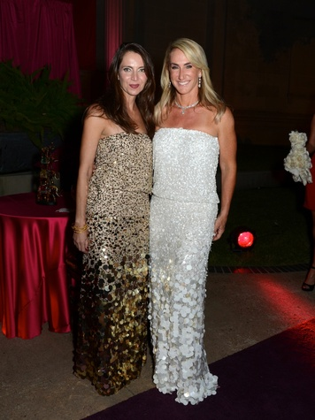 17 Aliyya Stude, left, and Courtney Sarofim at the Museum of Fine Arts, Houston Ball October 2013