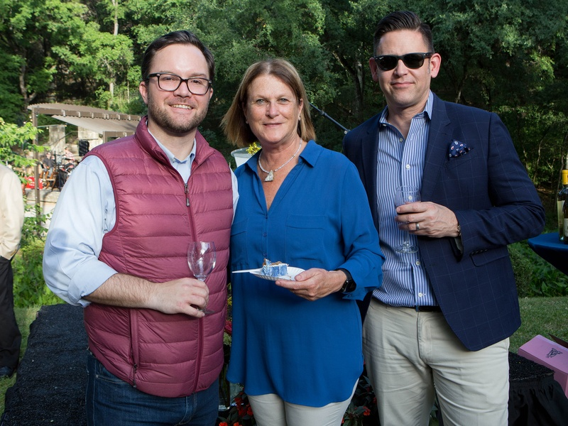 Umlauf Garden Party 2017 Heith Pino Janis Clapoff Edward Helm