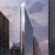 The Capitol Tower Houston Club rendering Gensler Skanska downtown Houston