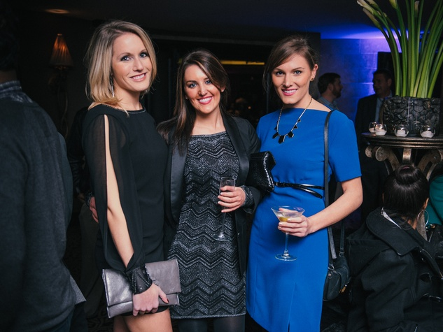 007, Mixers on the Map, Hotel ZaZa, January 2013, Jen Wagner, Mackenzie Foster, Helen Winchell
