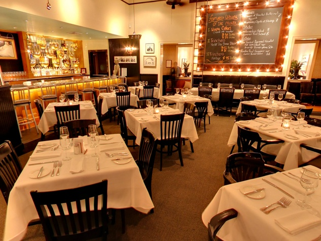 Ouisie's Table interior empty dining room