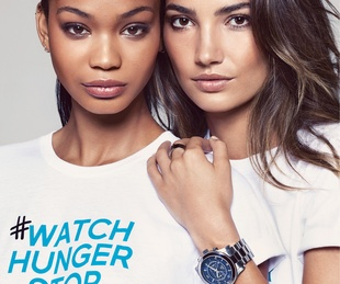 Michael Kors Watch Hunger Stop World Hunger campaign October 2013