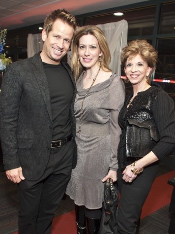News_013_Social Book Party_January 2012_Jeff Shell_Mauri Oliver_Vicki Rizzo