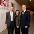 9 Brad and Leslie Bucher, from left, with Gary Tinterow at the MFAH Georges Braque opening reception February 2014