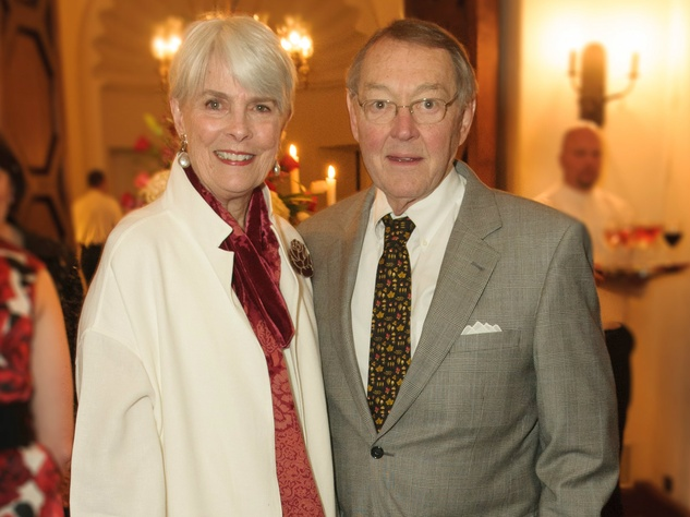 Judy Gibbs, Jim Gibbs, vday dinner at the arboretum