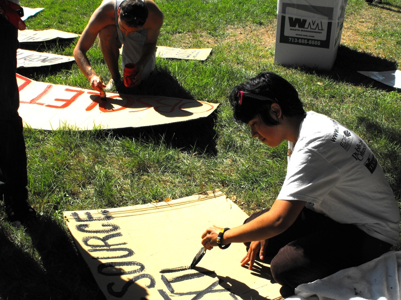 Occupy_Houston_Silent_Protest_Maria_Heg