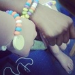 34-year-old Charity Johnson poses as 15-year-old student friendship love bracelets May 2014