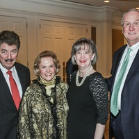 Danny Ward, from left, Nancy Ames and Dorothy and Mickey Ables at the Cornerstone Dinner February 2015