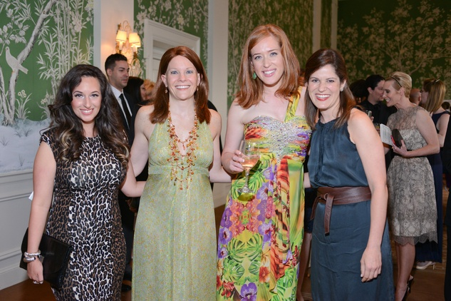 11 Nina Gutierrez, from left, Garcia Maidie Ryan,  Sarah Welch and Lauren Hoffer at the Leukemia & Lymphoma Society Man and Woman of the Year Gala June 2014