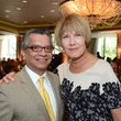 David Ruiz and Ellen Sanborn at the Children at Risk luncheon October 2014