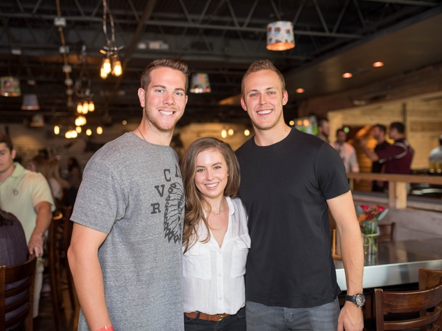 Houston, Homemade Hope BBQ, Beers & Cheers, Nov. 2016, Nick Kingham, Claire Petratis, Jameson Taillon