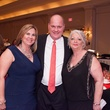 Ann and Ed Deery, from left, with Dr. Gila Arnoni at the Crossroads Gala June 2014