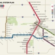 METRO, METRORail, light rail, map