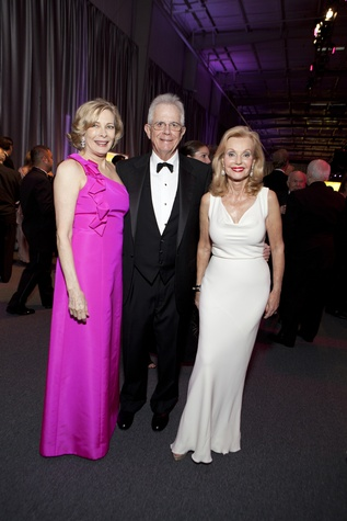 Josephine and Phil John, from left, with Pat Breen at the Alley Ball April 2014