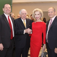 News_Houston Grand Opera_room dedication event_April 2012_Perryn Leech_Carlisle Floyd_Lynn Wyatt_Patrick Summers