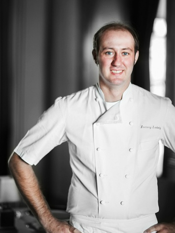 Chef Zachary Ladwig at Inn at Dos Brisas