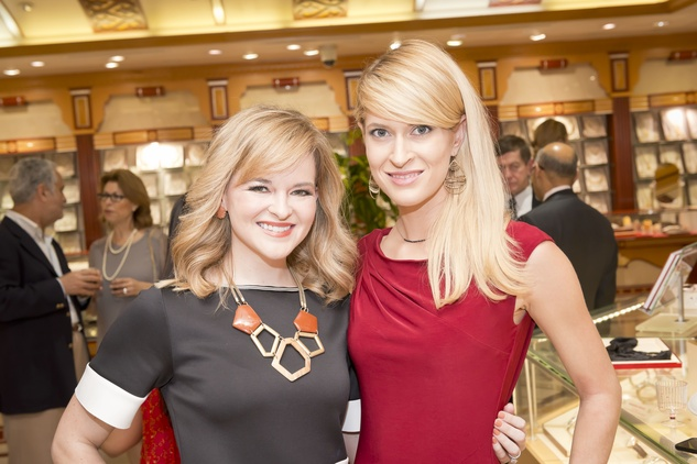 10. Kimberly Lombardino, left, and Kendall Hano at the Houston Grand Opera Ovation Awards April 2015