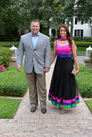 News, Shelby, Recipe for Success Indian Dinner, May 2015, Randy and Neela Risher