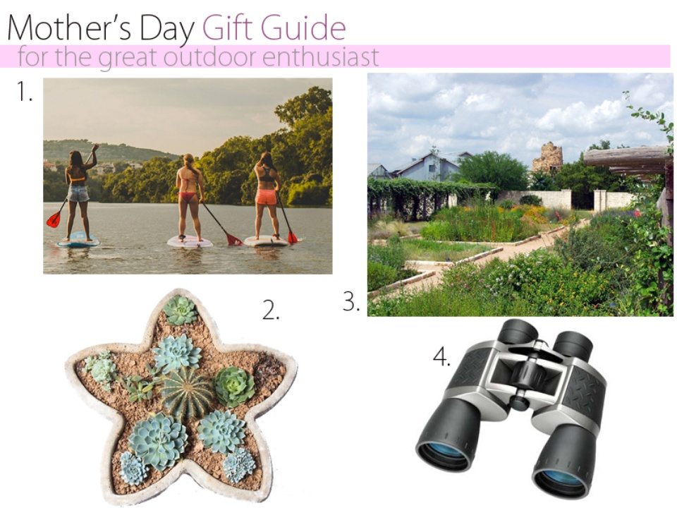 Mother's Day Austin gift guide outdoor