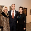 8 Danielle and Meredith Cullen, from left, with Mary Cullen at the MFAH Georges Braque opening reception February 2014