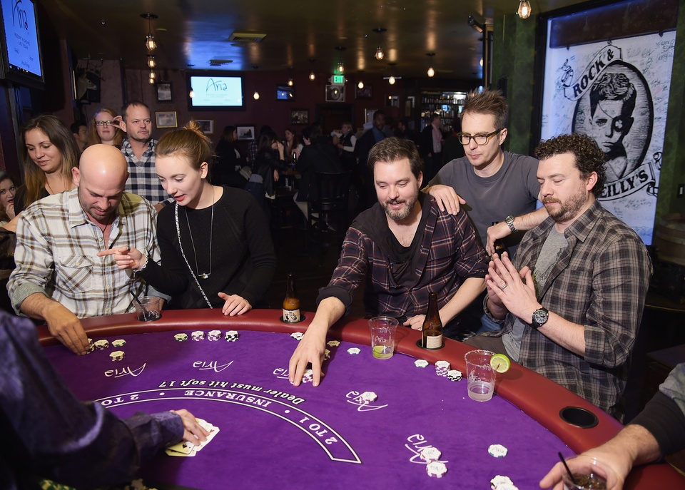 Sam Rockwell and Danny McBride at Sundance Film Festival