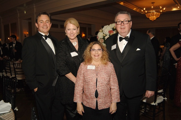 496 Bill and Shawn Jackson, from left, and Marion and David Young at the UH Law Center Gala April 2014