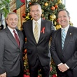 002, World AIDS Day luncheon, December 2012, Don Guter, John Nechman, Mitchell Katine