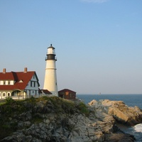 Portland Headlight in Maine