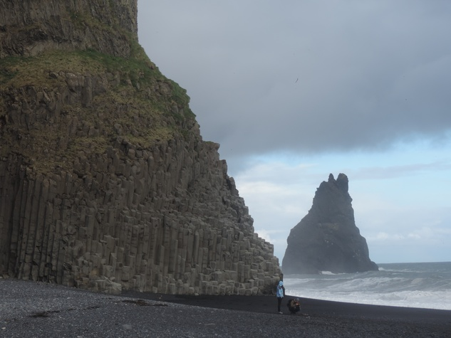 Tarra Gaines Iceland December 2014 Beach at Reynisdrangur, Vik