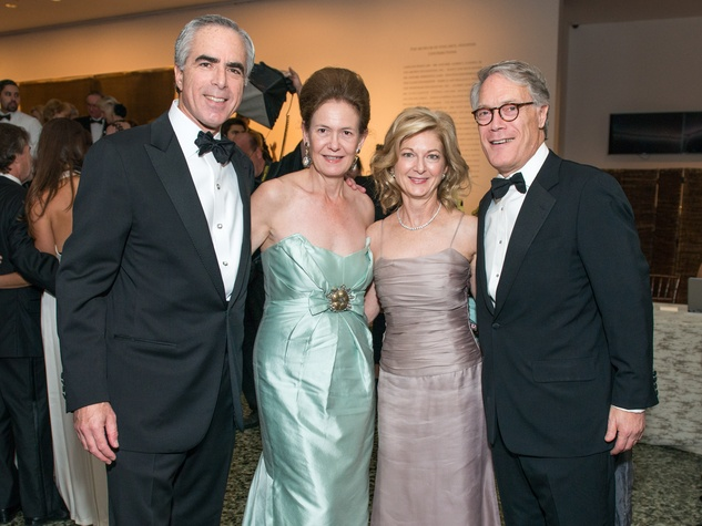 32 Steve and Betty Newton, from left, and Ann and Karl Stern at the MFAH Grand Gala October 2014