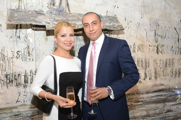 26 Veronica Ramirez and Hassan Alrady at the Christofle event June 2014