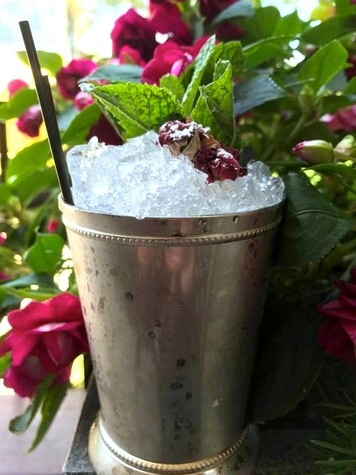 Houston, Marcy, creative juleps, May 2017, Rosewater