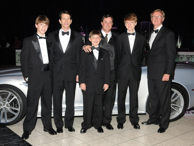 News_JDRF Promise Ball_Men on a Mission_April 2012_Porter Bretches_Clay Bretches_Jackson Fass_Rich Fass_Jake Williams_Kelly Williams