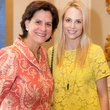 Suzann Richardson, left, and Kathleen Jennings at the DePelchin Children's Center luncheon April 2014