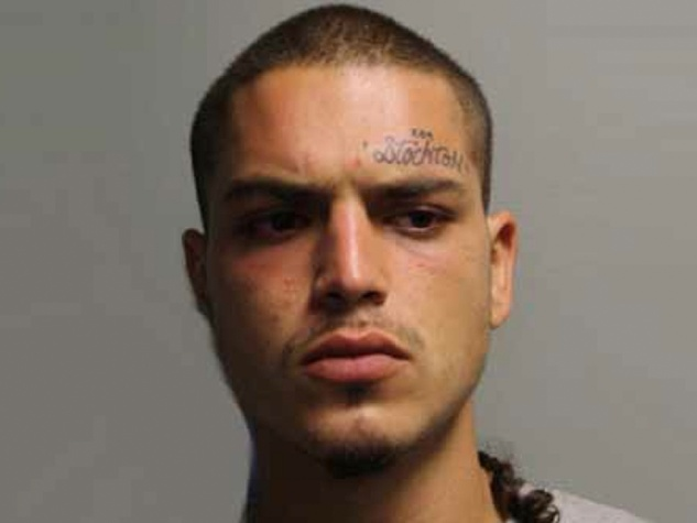 man suspected in taco truck shooting Adrian Gomez mug October 2013