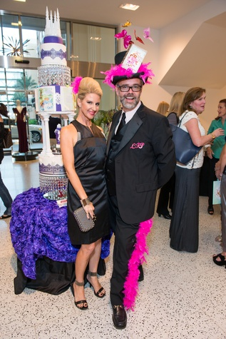 46 Lorrie Freeze and Michael Pearce at Lord Fancy Pants book launch October 2014