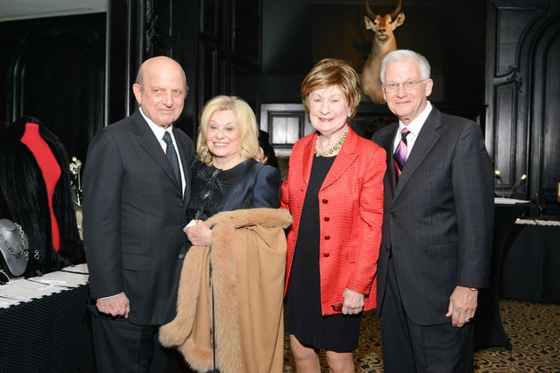 5 Don and Sidney Faust, from left, and Cora Sue and Harry Mach at the Krist Samaritan Gala November 2014